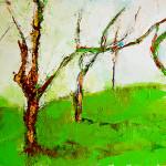 деревья 40х60